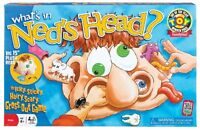 Poof-slinky - Ideal What`s In Ned`s Head Game With 15-inch Plush Head, 0x2460 , on sale