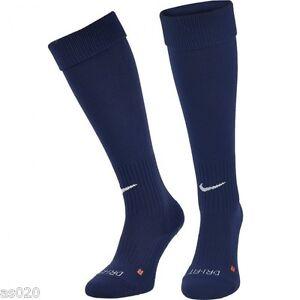 a4e251b5639 Nike Classic Mens Adults Dri-FIT Football Soccer Socks - Navy Blue ...