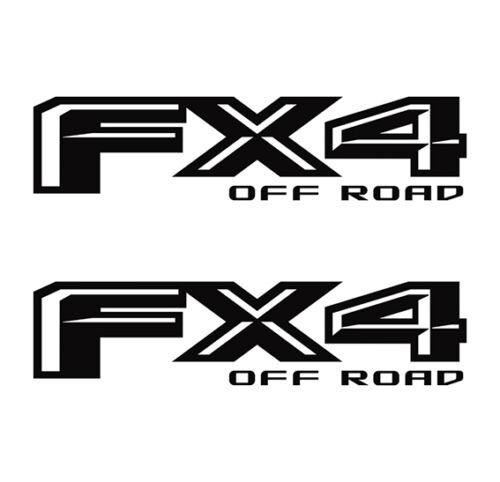 Ford F-150 FX4 F150 Off Road 2015 2016 2017 Decals 2 Sticker Vinyl Truck llo