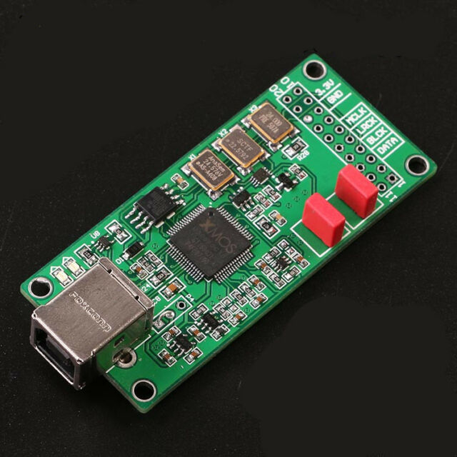 XMOS-U208 digital interface asynchronous daughter card / I2S / support DSD256
