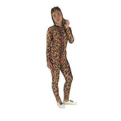 Leopard Print Spandex Zentai Adult Outfit Halloween Party Unitard Leotard S-XXXL