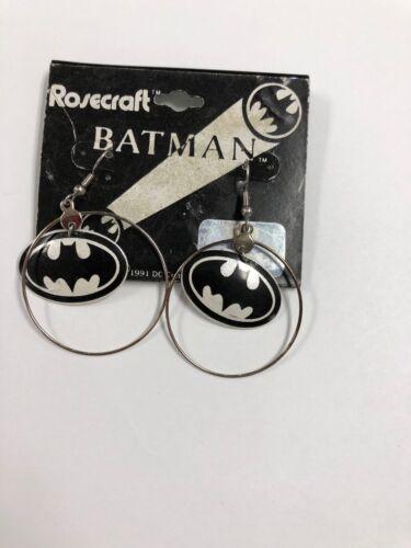 New 1991 Batman Loop Earrings