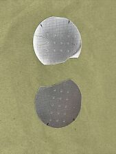 Lot Of 2 Microchip 2 Silicon Wafers Snapped Pieces K