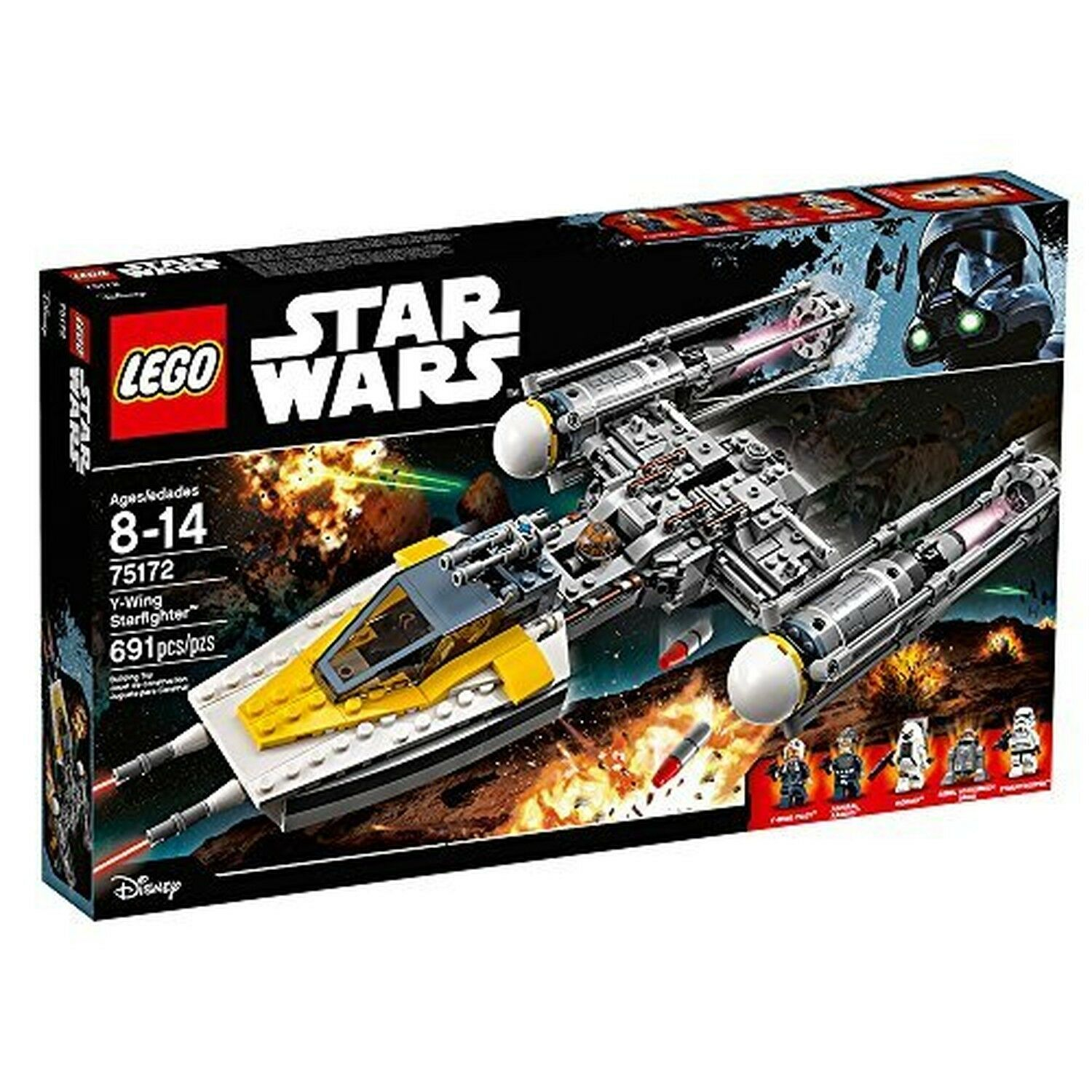 LEGO Star Wars Y-Wing Starfighter è 75172 giocattolo di Star Wars