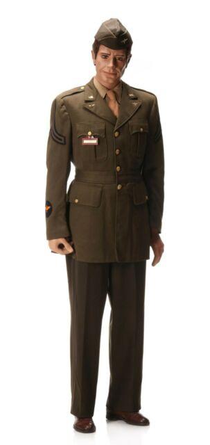WWII Named 1ST LT GRIFFITHS (THREE KILLS) 8TH USAAF England Uniform ID'd