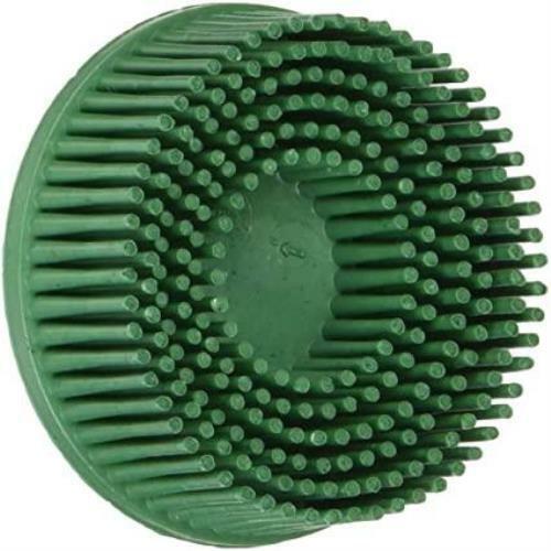 Scotch-Brite Roloc Bristle Disc 2 inch  Green 50 Grit 3M 07524