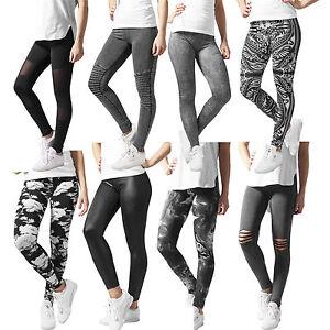 Urban-Classics-Leggings-Yoga-Leggings-Sporthose-Tights-Fitness-Spandex-Yogapants