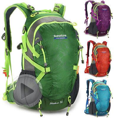 Men women Waterproof laptop Sport Travel internal Frame Hiking Camp Backpack bag