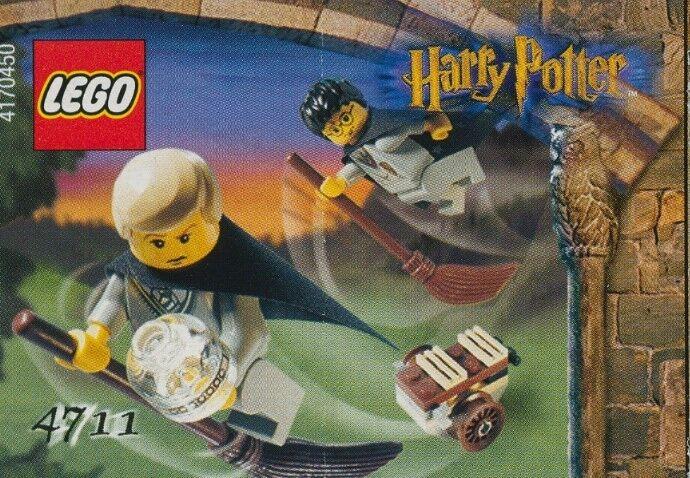 LEGO 4711 - Harry Potter Potter Potter  Sorcerer's Stone - Flying Lesson - NO BOX - 2002 110593