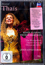 DVD MASSENET THAIS Renee FLEMING Thomas HAMPSON Michael Schade LOPEZ-COBOS Thaïs
