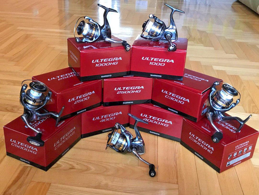 Shimano Ultegra FB 1000-5000 (All Models) Spinning Reels