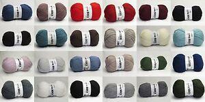 Lang-Super-Soxx-6-fach-6ply-hochwertige-Sockenwolle-uni-freie-Farbwahl