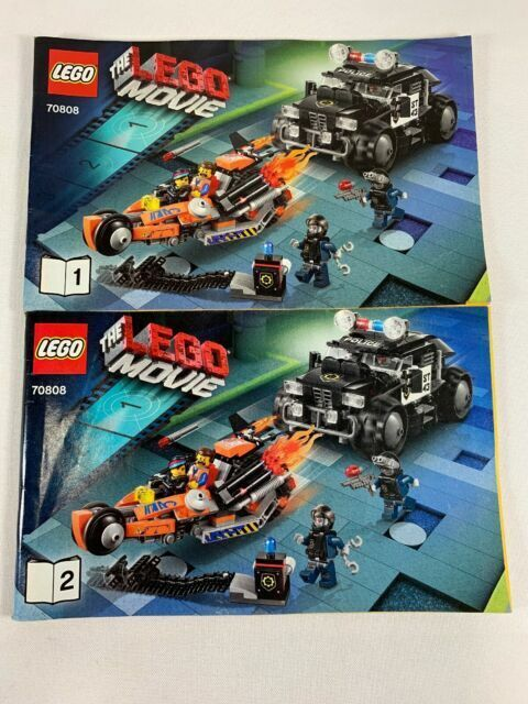 The Lego Movie Super Cycle Chase 70808 For Sale Online Ebay