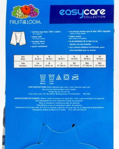 Fruit of the Loom Easycare shrink less Plush Waistband 3 Pack Boxer Briefs