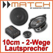 Helix Match MS42C - 10cm 2-Wege Lautsprecher System 10mm BOXEN SET Auto HIFI CAR
