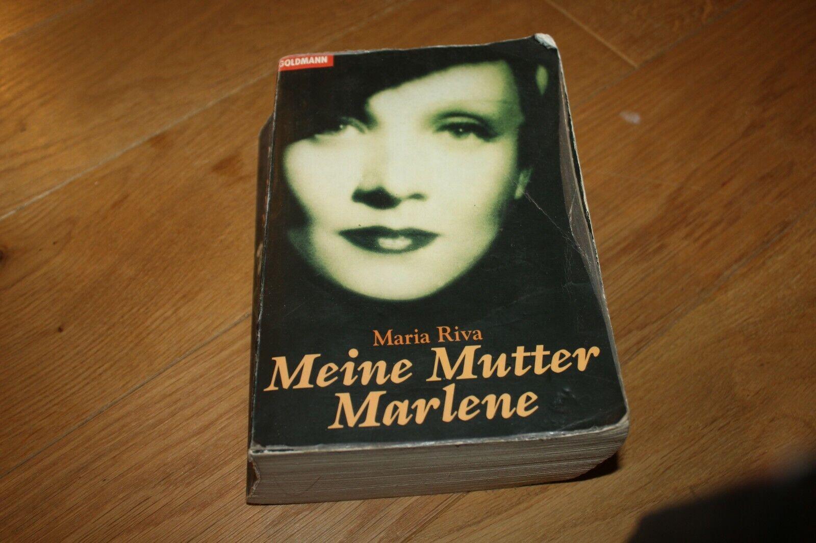 Meine Mutter Marlene Maria, Riva,: - Maria, Riva,