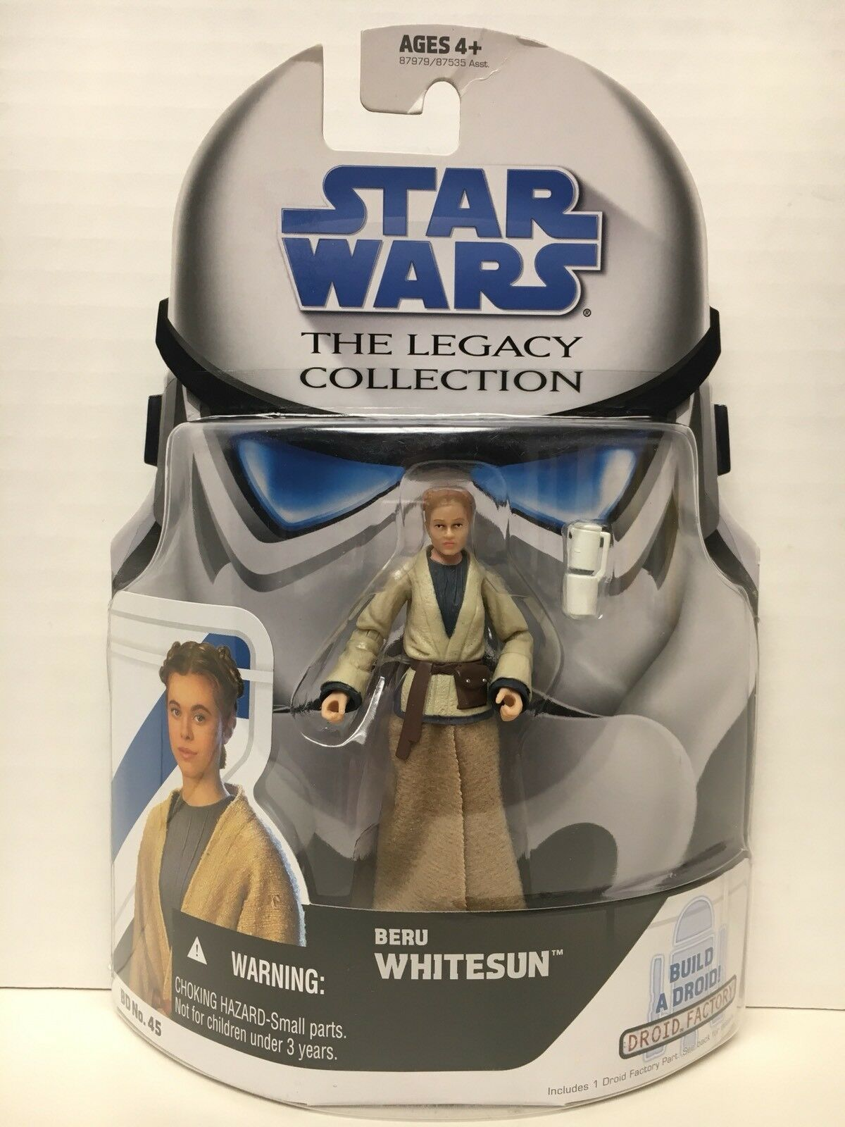Star Wars The Legacy Collection Beru Whitesun BD No. 45 2009 Hasbro NEW TLC