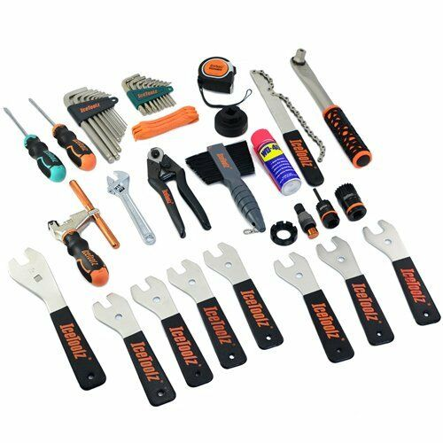 IceToolz 85A4 Advanced Mechanic Tool Kit