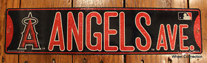 Street-Sign-Anaheim-Angels-MLB-Lic-Los-Angeles-Baseball-full-colorful-picture