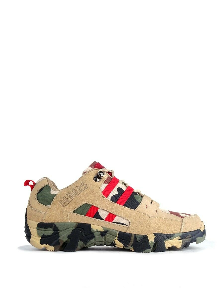 Boots Red Hero Soldier Edition Green Sand