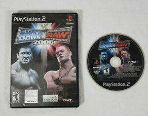 WWE-SmackDown-vs-Raw-2007-Sony-PlayStation-2-PS2-DISC-AND-CASE-ONLY