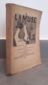 La Muse A Tocado Marpon & Flammarion 1881 Frontispicio París ABE