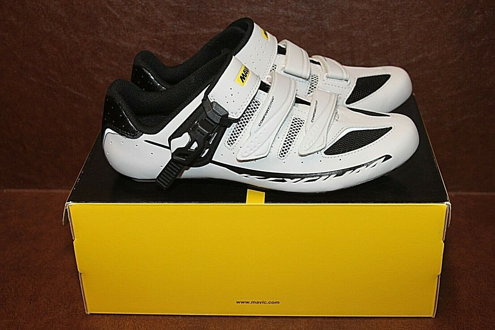 Mavic Ksyrium Elite Maxi Fit II Men's Cycling shoes  3 US 8 NIB 377959