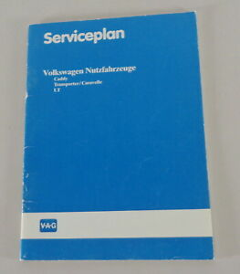 VW CARAVELLE//Transporter t4 manuale di istruzioni manuale di istruzioni 07//1993
