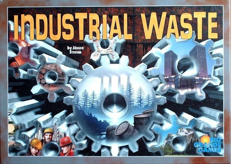 Industrial Waste Strategy Board Game, Rio Grande Games edition - brand new