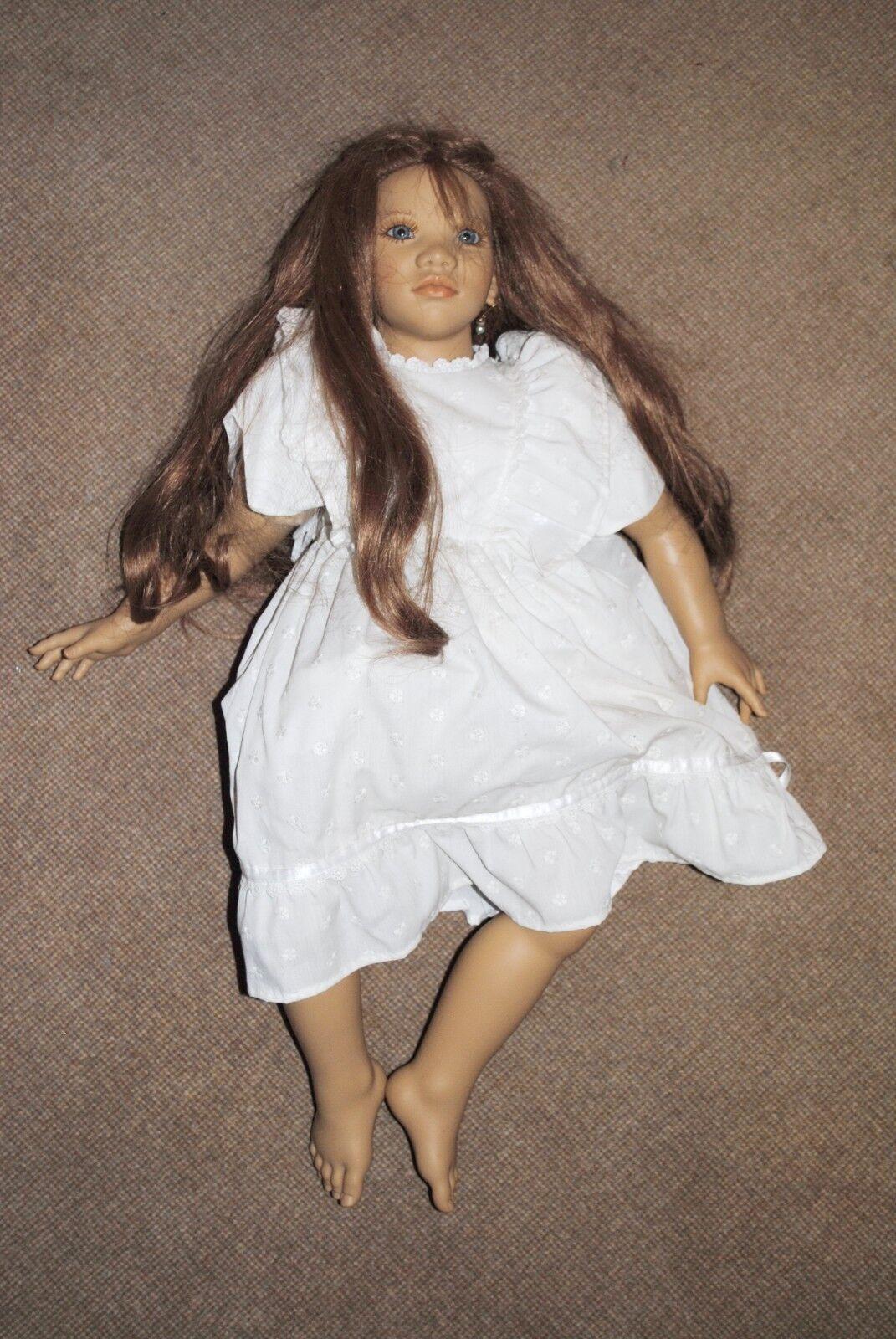 prestigio l @ @ k  Annette Himstedt muñeca-sin usar-Top-Grosse muñeca nº 1