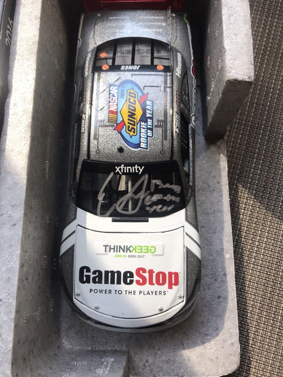 Lionel Racing Erik Jones 2016 NASCAR Xfinity Series Rookie of The Year Galaxy Finish Diecast Car 1:64