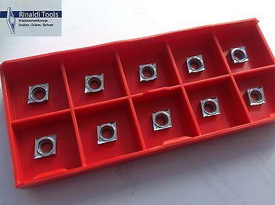 10 x ALU- Wendeplatten CCGT 060204-AL RT100 (K10) NEU!! Mit Rechnung!!