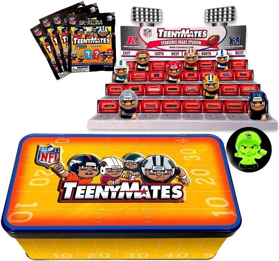NFL TeenyMates Series 5 Linemen Tin Set