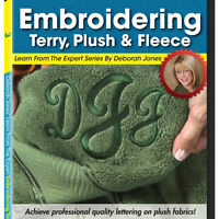 Dvd: Embroidering On Terry, Plush, & Fleece