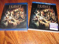 The Hobbit:The Desolation of Smaug (Blu-ray/DVD+Digital HD,2014,3-Disc)Fast Ship