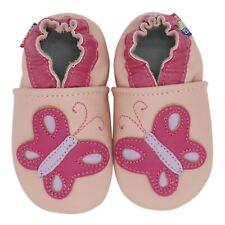 carozoo crocodile cream 0-6m  soft sole leather baby shoes