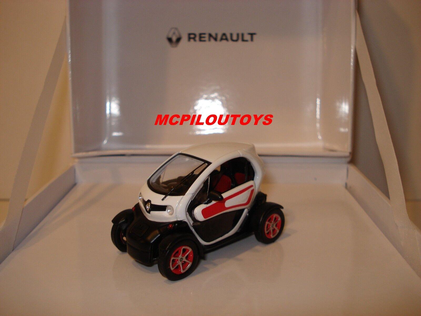 Caja Renault Twizy blancoo y Naranja 2013 Spark Al 1 43°