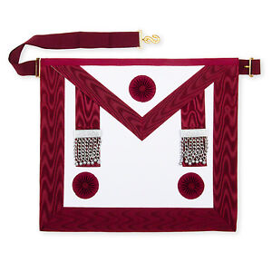 Lambskin-Masonic-Craft-Provincial-Stewards-Apron-with-Rosettes-Masons-Regalia