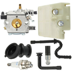 Carburetor-For-Walbro-WT-194-Stihl-024-026-MS240-MS260-Carb-Air-Fuel-Filter-Kit