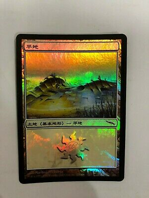 332 Plains FOIL Invasion NM Basic Land MAGIC THE GATHERING MTG CARD ABUGames