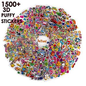 Craft 3D Puffy Pegatinas Conde Beyumi 58 hojas de diferentes Niños Pegatinas 1500