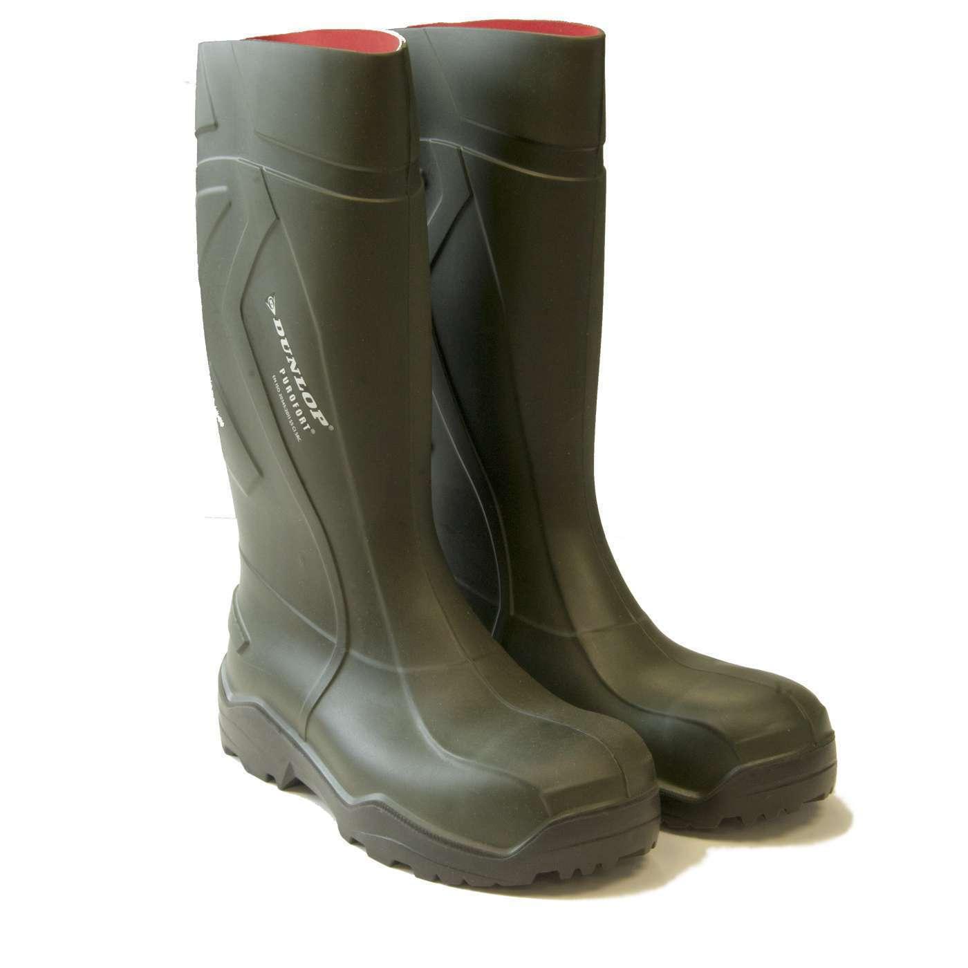 DUNLOP Purofort + Lavoro Stivali di Gomma-PERFETTO agricoltura Stivali