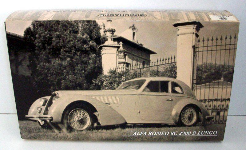 Minichamps 1   43 - alfa romeo 8c 2900 b 436 120420 lungo 1938 - hellblau