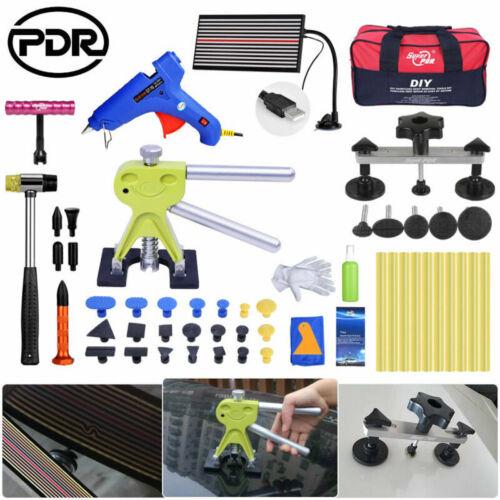 Paintless Removal PDR Car Repair Tools Kit Light Line Board Dent Lifter Bridge