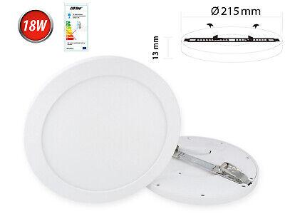 Sporting 18w Led Panel Aufbau Deckenlampe Spot Deckenleuchte Warmweiß 1570 Lm Rund