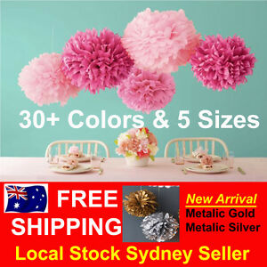 Tissue-Paper-Pom-Poms-Wedding-Party-Baby-Living-Room-Decoration-Home-Pompoms