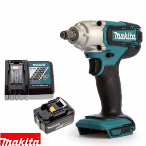 makita dtw190z 18v li ion 1 2 impact wrench body with 1 x. Black Bedroom Furniture Sets. Home Design Ideas