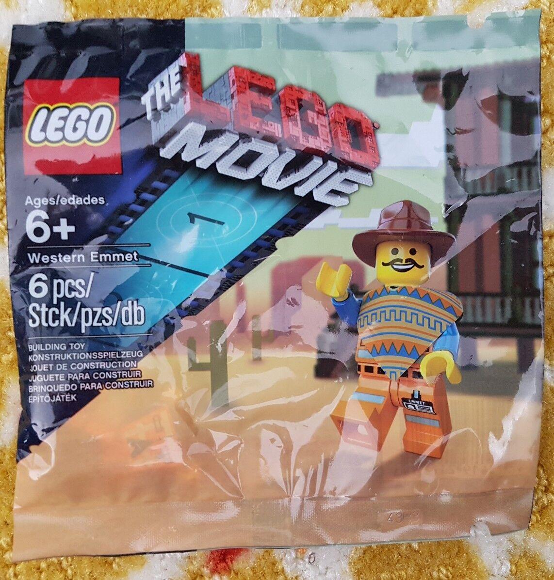 Neues lego westlichen emmet lego lego lego - film 6pc exklusive kooperation besiegelt - polybeutel 07a07e