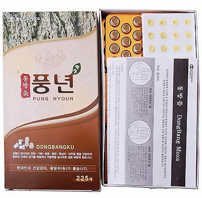 Health & Beauty Acupuncture 225pcs Dongbang Moxibustion Acupuncture Pung Nyoun Mini Mogwort Moxa Cone Db203 Elegant In Smell