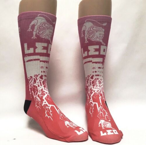 Leo Zodiac Sign Brand New With Tags Straight From Production Line Savvy Socks!